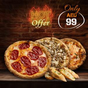 Triple Pizza Combo